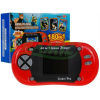 Mini konsola - podręczna gra elektroniczna 180 gier - 8 bit kolor czerwony