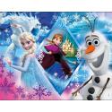 Puzzle Clementoni Supercolor - Frozen - 100 el.