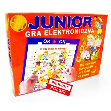 Junior - wiem wszystko. Gra elektroniczna - Jawa