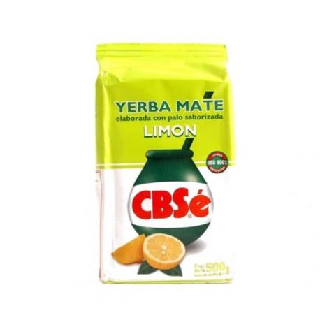 Yerba Mate CBSe Limon (cytrynowa) 500g