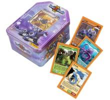 Karty INVIZIMALS - fioletowe pudełko - 51 kart