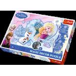 Puzzle TREFL Kraina Lodu Frozen - Puzzle Magic Decor - Świecące w ciemności - 15 el.