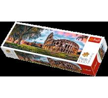 Puzzle TREFL Panorama - Koloseum o poranku - 1000 el.