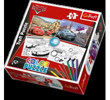 Puzzle TREFL Color Puzzle - Auta 2 48 el.