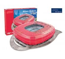 Puzzle 3D - STADION ALLIANZ ARENA (Bayern Munchen) - 119 el