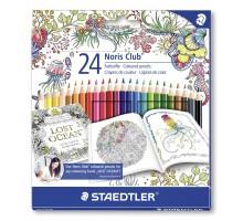 Kredki ołówkowe Staedtler Noris Club S144 - 24 kolory