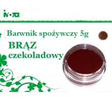 Barwnik spożywczy - BRĄZ CZEKOLADOWY - 5g