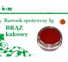 Barwnik spożywczy - BRĄZ KAKOWY - 5g
