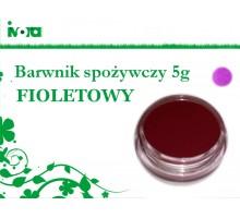 Barwnik spożywczy - FIOLETOWY - 5g