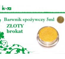 Barwnik spożywczy BROKAT - ZŁOTY - 5 ml