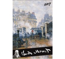 AVANTI Kalendarz Claude Monet 2017 A3 32x47 14 plansz