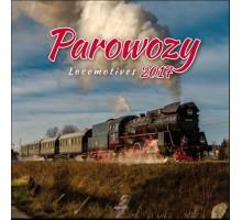AVANTI Kalendarz Parowozy 2017 32x32 14 plansz