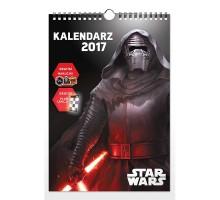 Kalendarz 2017 A3  Star WARS - planszowy