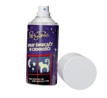 Spray fluorescencyjny świecący w ciemności. Pojemność 150m
