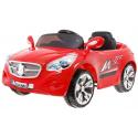 Autko dla dzieci 2X35W + pilot biegi wolny - bieg szybki - kolor czerwony NOWOŚĆ