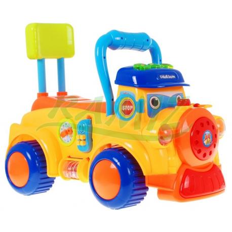 Jeździk chodzik lokomotywa