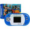 Mini konsola - podręczna gra elektroniczna 180 gier - 8 bit kolor niebieski