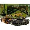 Zestaw 2 dużych czołgów - interaktywne