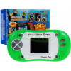 Mini konsola - podręczna gra elektroniczna 180 gier - 8 bit kolor zielony