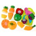 Zestaw owoców i warzyw do krojenia