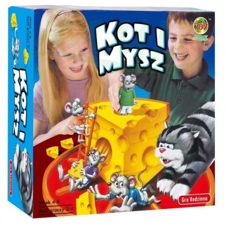 Gra rodzinna - Kot i Mysz
