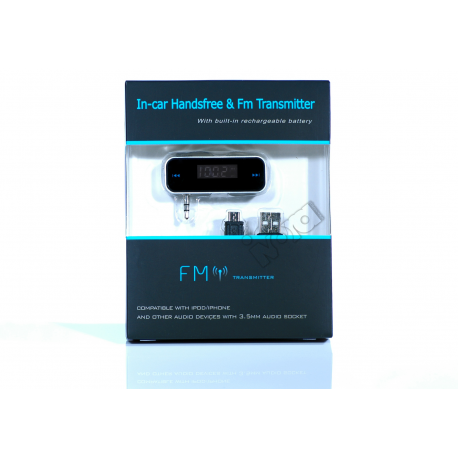 Cyfrowy transmiter FM JACK - iPhone, Samsung, Sony, Nokia, HTC
