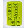 Silikonowa foremka do lodu z mieszadełkiem - whisky, gin, vodka, rum 2szt