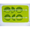 Silikonowa foremka do lodu z mieszadełkiem - cytrusy 2 szt