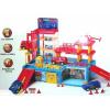 Garaż dla dzieci + lądowisko na helikopter