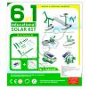 Zestaw kreatywny Robot Solarny KITS 6w1