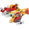 Klocki konstrukcyjne- zestaw pojazd + helikopter