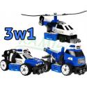 Klocki konstrukcyjne - 3w1 - Policja 48el