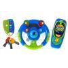Zestaw grzechotek - kluczyk, kierownica i komórka - niebieski