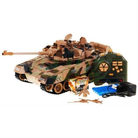 Wspaniały Ogromny czołg zdalnie sterowany na kulki 1:18 40mHz - T90 JW32