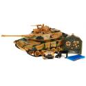 Ogromny (48 cm) czołg zdalnie sterowany 1:18 40MHz - Leopard II - strzela kulkami
