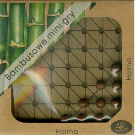 Bambusowe mini gry - HALMA - Albi