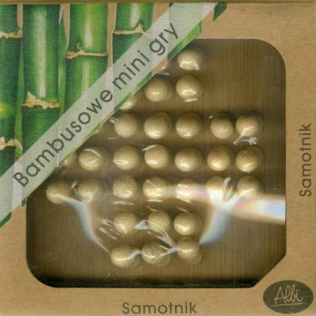 Bambusowe mini gry - SAMOTNIK - Albi