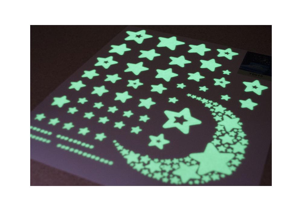 Naklejki Na Sciane Gwiazdy Fluorescencyjne