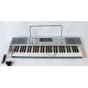 KEYBOARD + mikrofon + USB + radio - 61 KLAWISZY - dynamiczna klawiatura MQ 002UF
