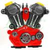 Duży rozkręcany silnik z efektami dźwiękowymi i świetlnymi