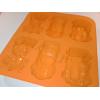 Forma silikonowa - samochody auta III - wyścigówki