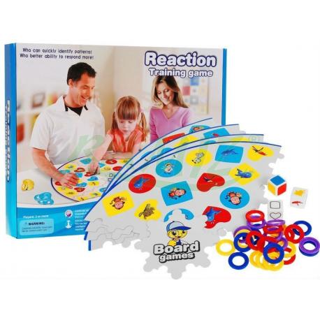 Gra ćwicząca refleks - Akcja-Reakcja