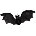 Olbrzymi nietoperz - ozdoba na halloween 75 cm