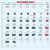 AVANTI Kalendarz Familijny z naklejkami - 28 stron 30x30