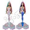 Barbie Syrenka zmieniająca kolory - szatynka