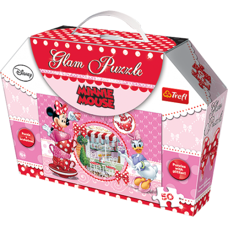 Puzzle Glam - Minnie - 50 el.