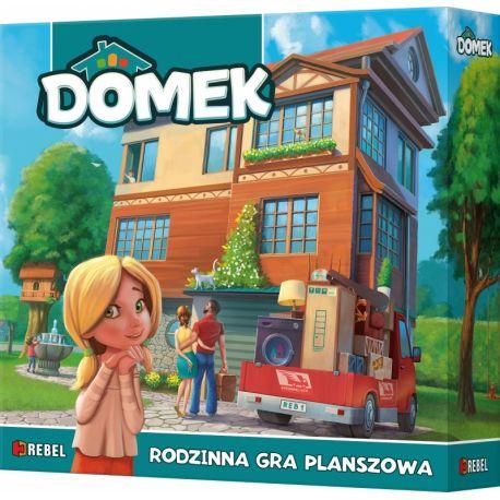 Domek - Jak będzie wyglądał Twój wymarzony dom? Planszowa gra familijna