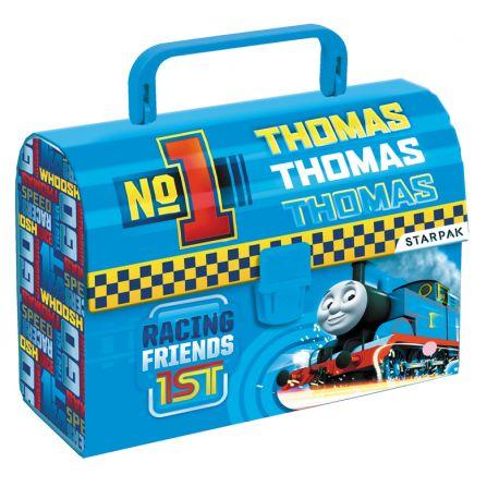 Kuferek kartonowy z rączką Tomek i Przyjaciele