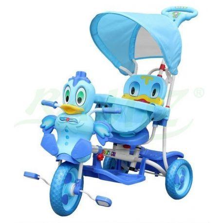 Rowerek kaczuszka niebieski