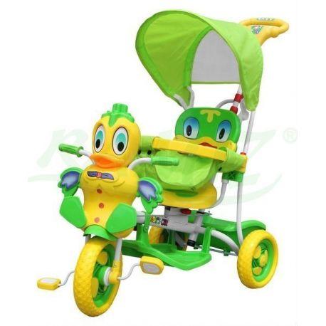 Rowerek Eva kaczuszka zielony